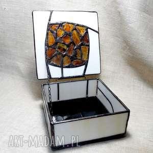 szkatułka pudełka brązowe prezent luksusowy, hand