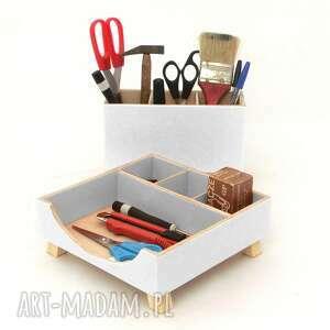 pudełka szkoła przyborniki na biurko - organizery