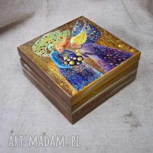 unikatowe pudełka anioł pudełko wielka tajemnica małych