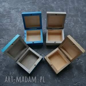 niebieskie pudełka aegishjalmur ręcznie malowane drewniane pudełko