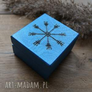drewniane pudełka ręcznie malowane pudełko
