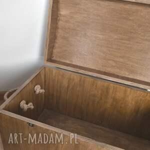 KoloryZiemi pudełka: Skrzynia drewniane Pudełko do przechowywania Dąb rustykalny