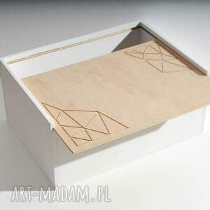 ręczne wykonanie pudełka skrzynka na dokumenty, na biurko