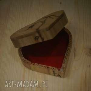 oryginalne pudełka smok smocze serce - drewniane pudełko
