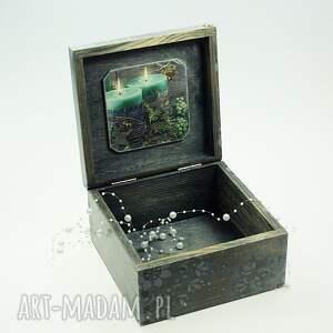 prezent pod choinkę szkatułka drewniana - magiczny