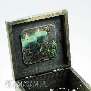 Shiraja prezent pod choinkęSzkatułka drewniana - Magiczny wieczór - narodzenie pudełko