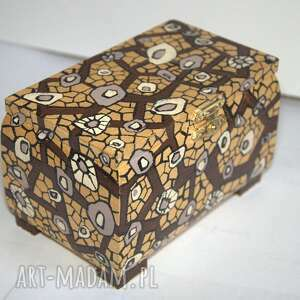 handmade pudełka szkatułka i świecznik
