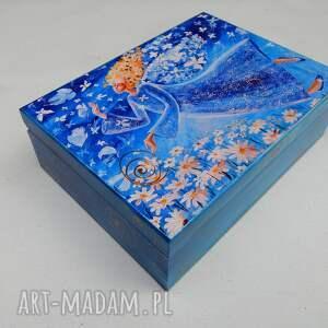 unikatowe pudełka szkatułka lekkość bytu 27 x 21 cm