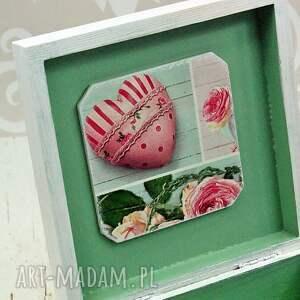 pudełka serce szkatułka - love