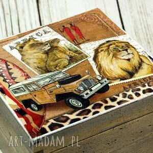 pudełka pudełko szkatułka - safari