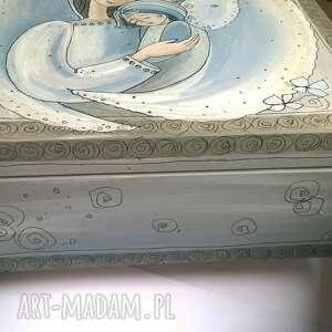 szare pudełka anioł szkatułka zamówienie pani anety