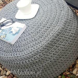 pufy pufa duża - stolik ze sznurka
