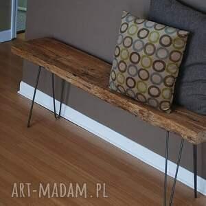 handmade ławka babati industrialna do loftu