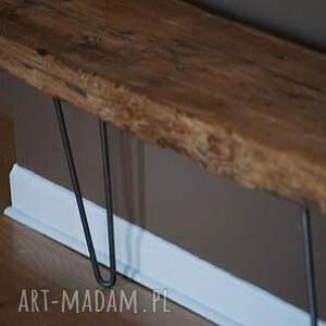 stolik ławka babati industrialna do loftu