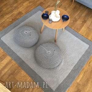 hand-made pufy puf poducha, siedzisko, pufa lotos
