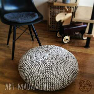 Knitting Factory Poducha, siedzisko, pufa Small Lotos