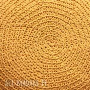 pufy zółty puf disc
