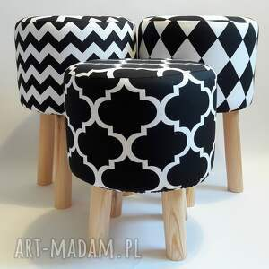 stołek pufy pufa arlekin 2 - 45 cm