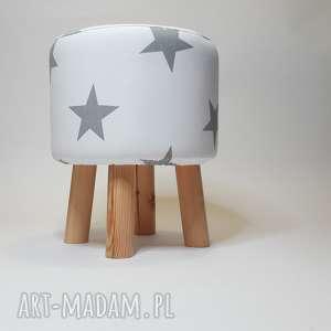 puf białe pufa gwiazdki - 36