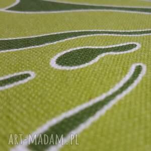 zielone pufy puf pufa fikus - 36 cm