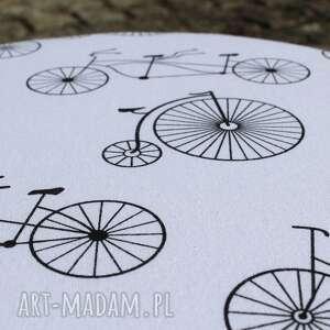 czarne stołek pufa jadę na rowerze - 36