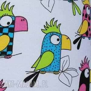 puf turkusowe pufa papuga - 36