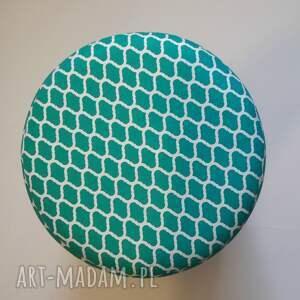 unikalne pufy puf pufa zielone maroco - handmade.
