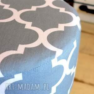 oryginalne pufy krzesło stołek fjerne m ( szara koniczyna )