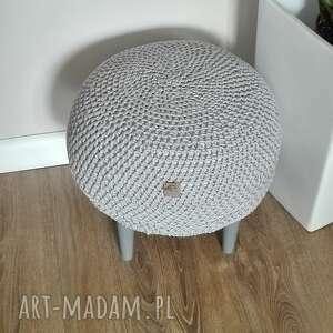 pufy krzesło stwórz swoją pufe na szydełku