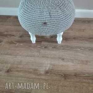 unikalne pufy krzesło stwórz swoją pufe na szydełku