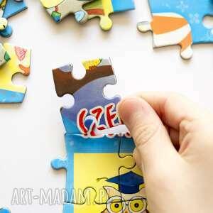 unikalne magnesy puzzle magnetyczne miesiące piękne