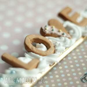 białe ramki modelina słodka walentynkowa ramka