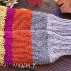 handmade rękawiczki bezpalczatki #6