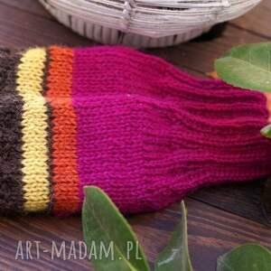 rękawiczki mitenki bezpalczatki #5