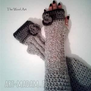 rękawiczki długie mitenki