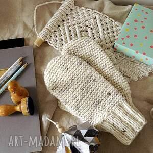 rękawiczki na zimę damskie dwuwarstwowe z jednym palcem