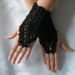 rękawiczki gotyckie jedyne w swoim rodzaju ażurowe