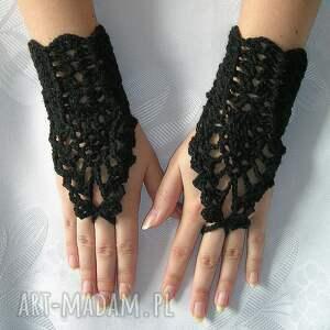 gustowne rękawiczki ozdobne jedyne w swoim rodzaju ażurowe