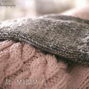 rękawiczki rękawki melanżowe