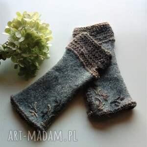 eleganckie rękawiczki mitenki