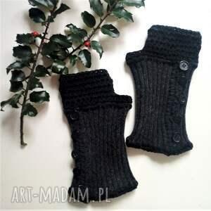 The Wool Art rękawiczki mitenki - wełniane