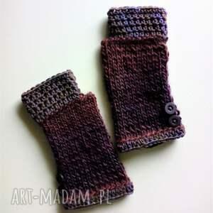 efektowne rękawiczki mitenki