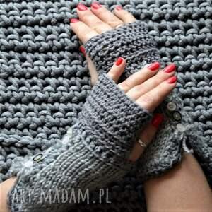 handmade rękawiczki mitenki - zamówienie
