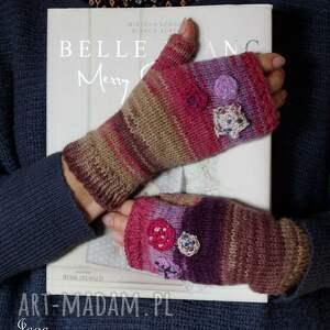 rękawiczki mitenki folkowe