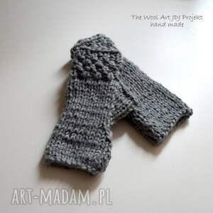 ręcznie wykonane rękawiczki mitenki