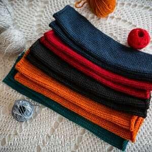 rękawiczki mitenki jasnoczerwone