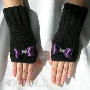 oryginalne rękawiczki - mitenki czarne