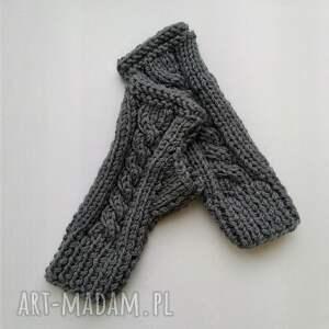 modne rękawiczki mitenki