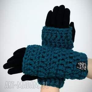 rękawiczki: 21 - morskie - mitenki