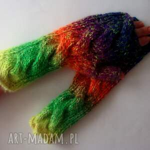 rękawiczki ciepłe multikolor****
